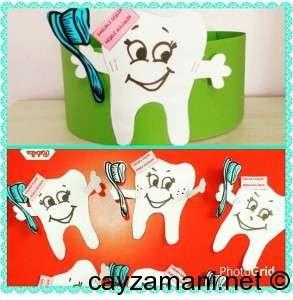 Dişler Ve Dişten Taç Yapımı çay Zamanı