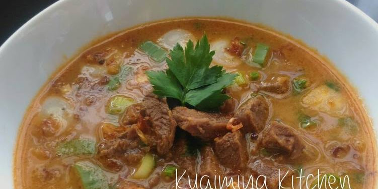 Resep Coto Makassar Tanpa Jeroan Oleh Kugimiya Kitchen