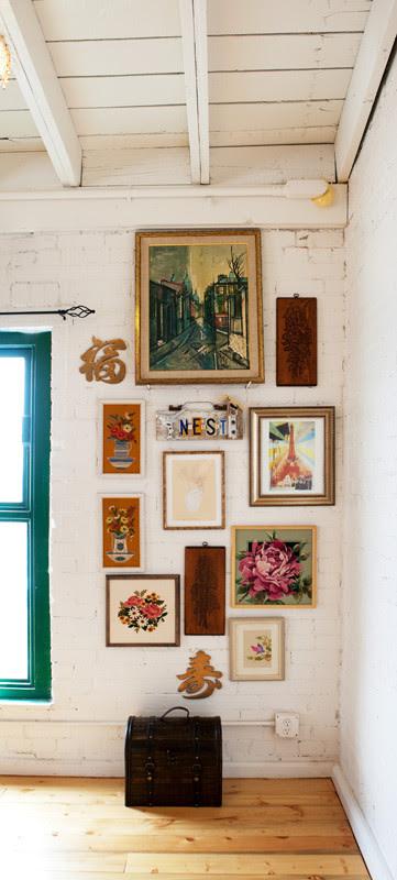 Vintage Renewal Loft eclectic hall