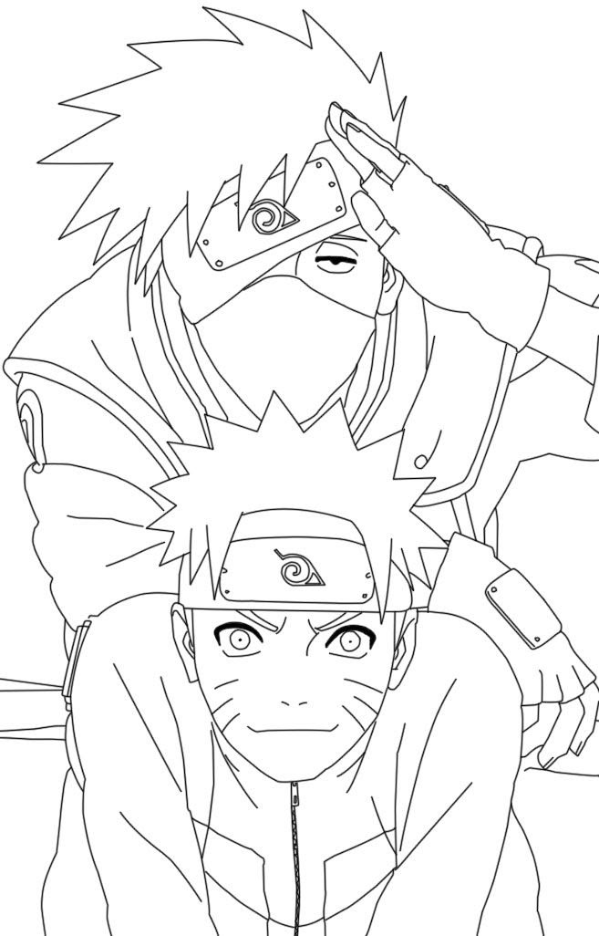 Naruto Color Pages Coloring Home