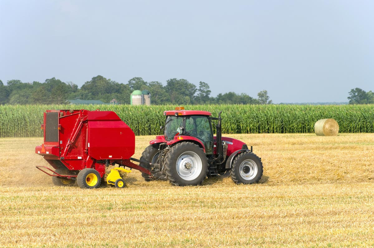 Image: Human farmers obsolete? Drones and driverless tractors now being used to harvest crops autonomously