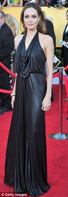 """""""Ainda uma menina má ': Angelina Jolie no SAG Awards no mês passado"""