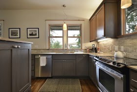 Best Pics Of Kitchens With Grey Cabinets Pictures