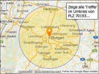 Umkreissuche Karte | Karte