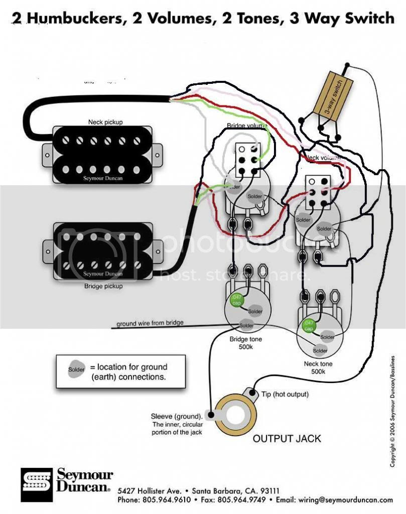 how to wire a 3 way switch guitar
