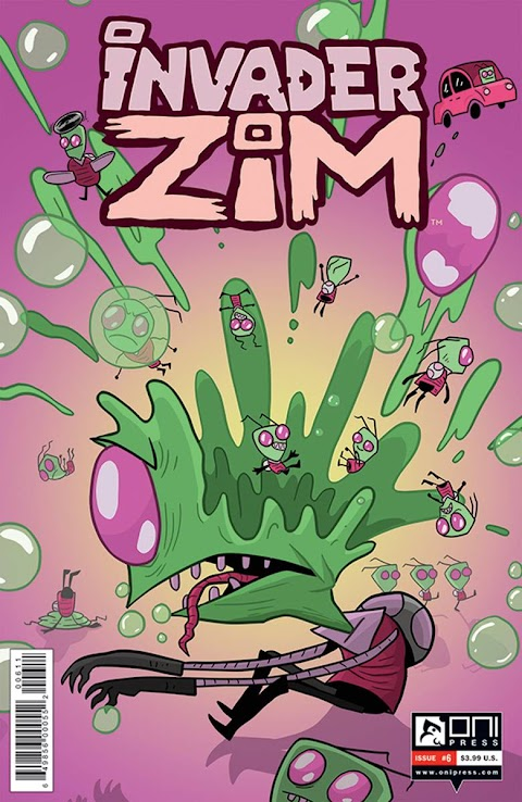 Invader Zim Comic Issue 6
