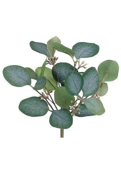 Artificial Eucalyptus Bush   Silk Flower Arrangements