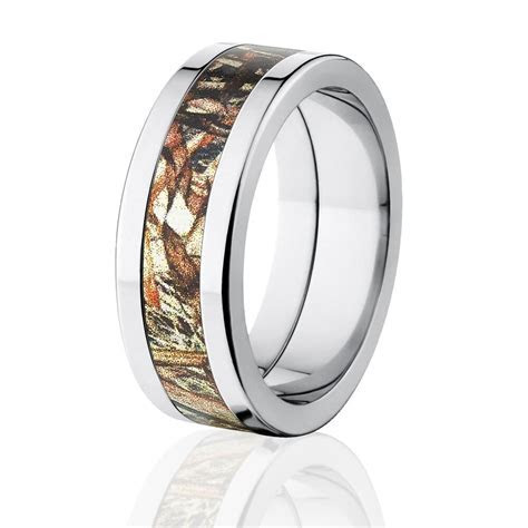 Duck Blind Camo Wedding Rings, Mossy Oak Camouflage Bands