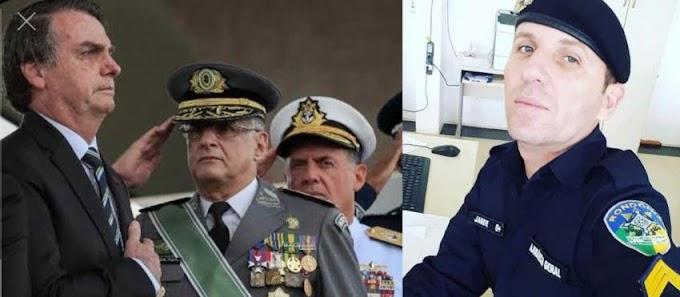 Sargento da PM RO pode ser expulso por desejar a morte de apoiadores do Bolsonaro