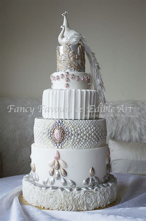 Wedding Cakes 1   Fancy Favours & Edible Art