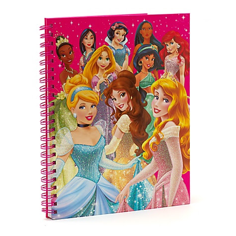Disney Princess A4 Lined Notebook