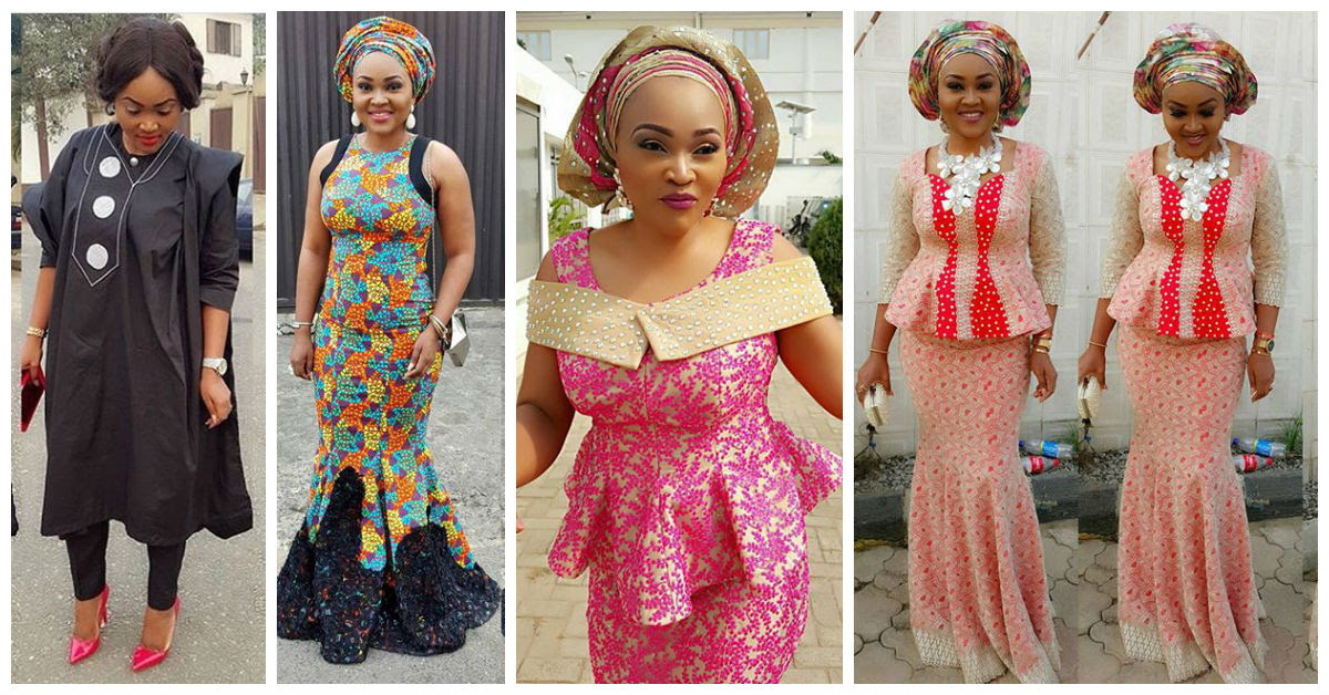Mercy Aigbe 2016 Latest Fashion Styles View Image