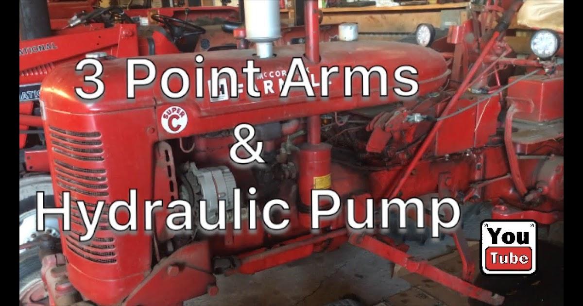 90 Farmall C Hydraulic System