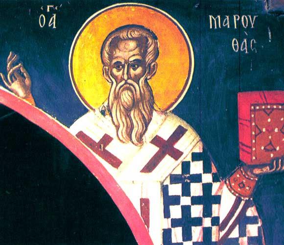 img ST. MARUTHAS, Hermit, Bishop of Martyropolis