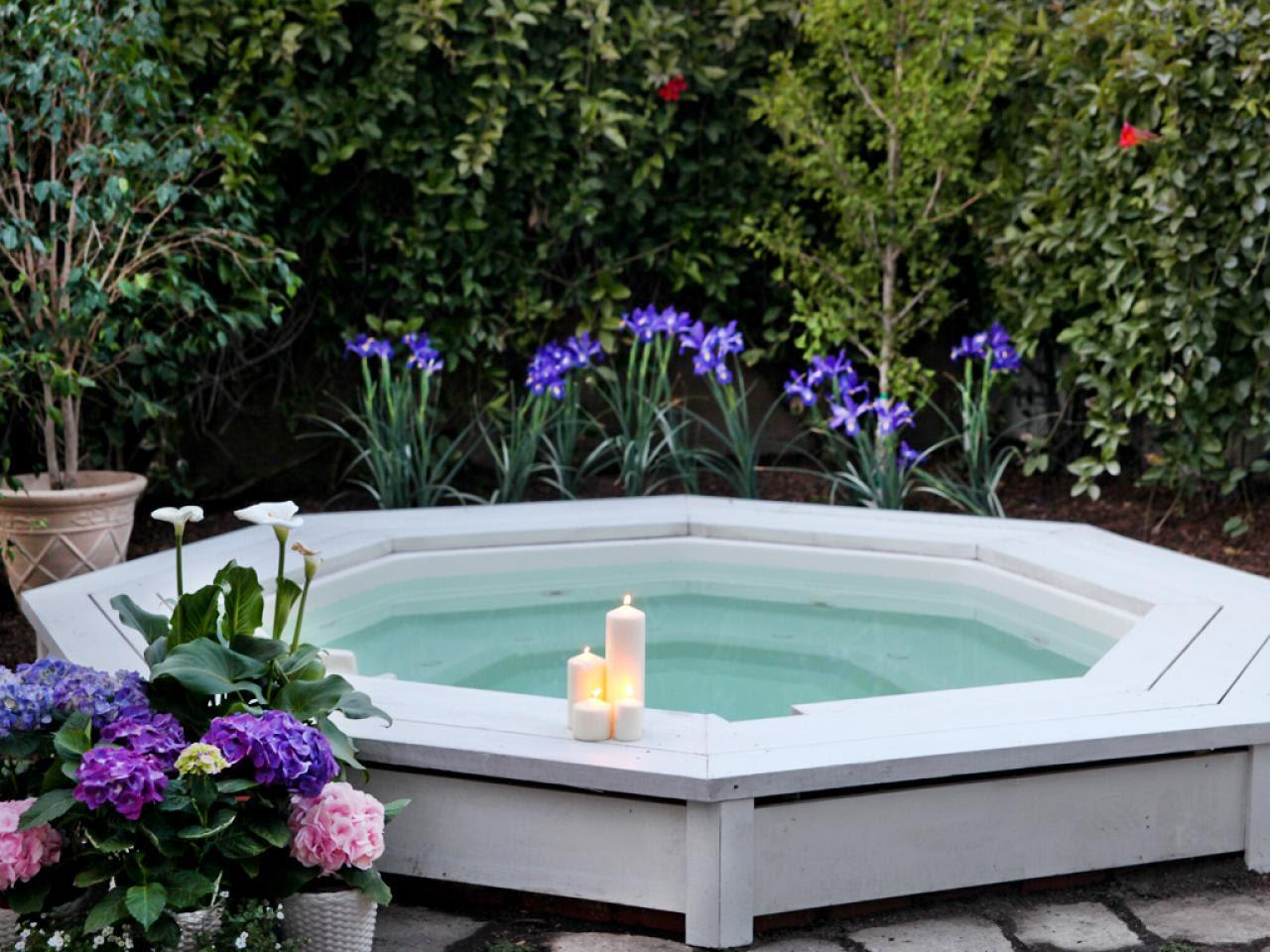 Sexy Hot Tubs and Spas | Outdoor Spaces - Patio Ideas ...