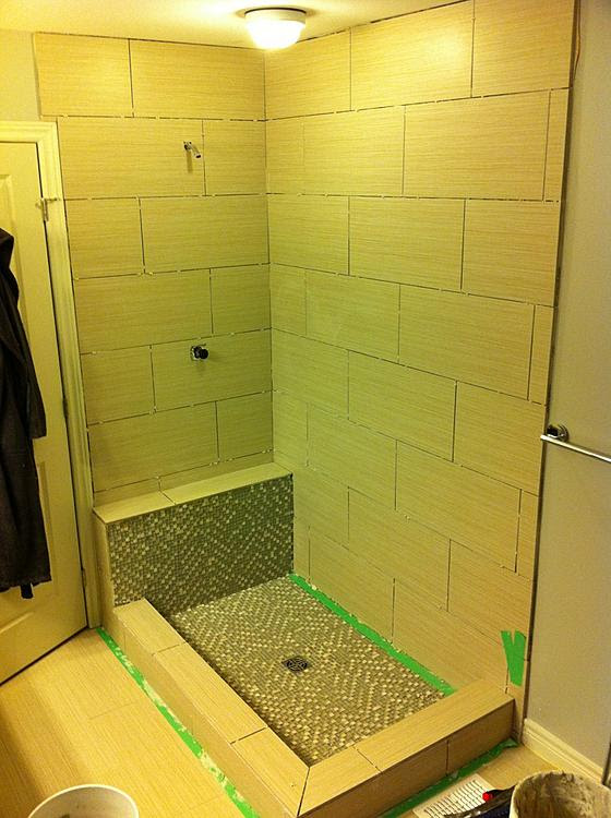 12 x 24 shower tile issues? - Ceramic Tile Advice Forums ...