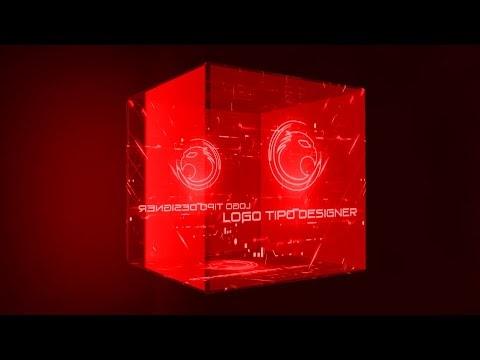 Intro #44 Editavel Logo Tipo Designer Tutorial no Final do vídeo