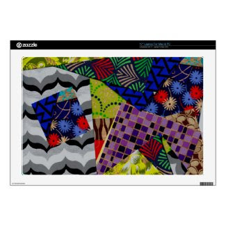 17 Inch Laptop Skin with Multi-Patterned Design