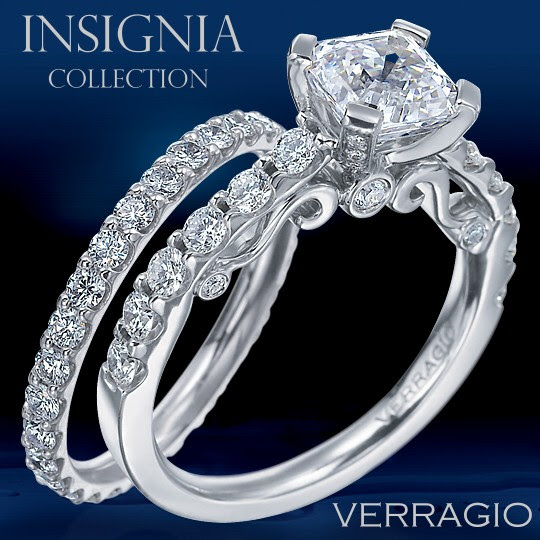 Introducing the new INSIGNIA Collection of engagement rings and wedding
