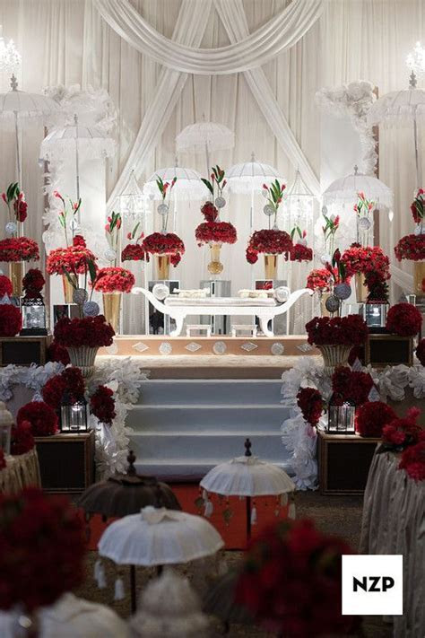 A Grand looking 'Pelamin' for a Malay wedding in Kuala