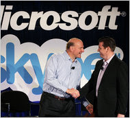 Microsoft reached a deal to acquire Skype earlier this week.