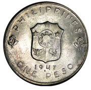 1 Peso (Douglas McArthur) – reverse