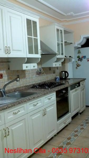 Ankara Mutfak Dolabı Boyama Neslihan Cila