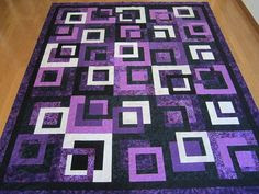 """The pattern is in this book """"The Modern Quilt Workshop"""" by Weeks Ringle and Bill Kerr and is called Outside the Box."""