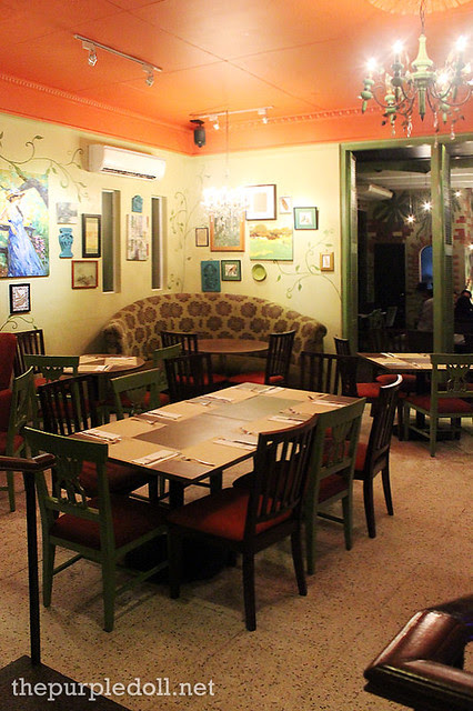 Napa Restaurant Ambiance