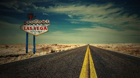 full hd wallpaper las vegas desert road usa desktop