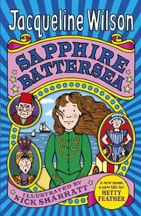 WISHFUL WEDNESDAY #10, SAPPHIRE BATTERSEA BY JACQUELINE WILSON