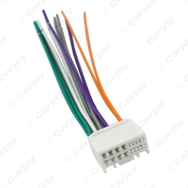 Leewa Car Audio Cd Stereo Wiring Harness Adapter With Usb