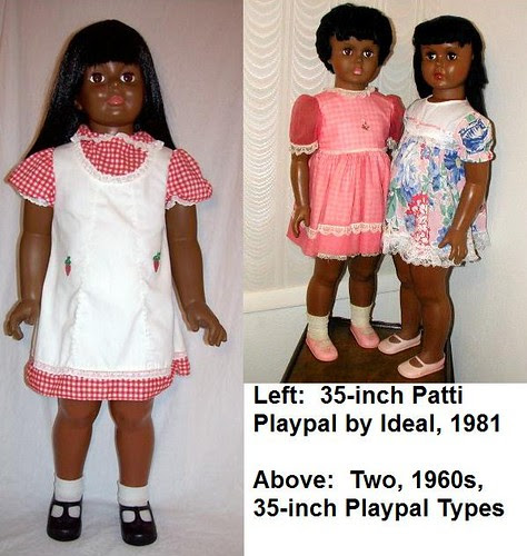 Patti Playpal and Playpal-Types by Black Doll Enthusiast