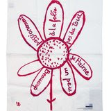 Virtues Theologales - Tea towel