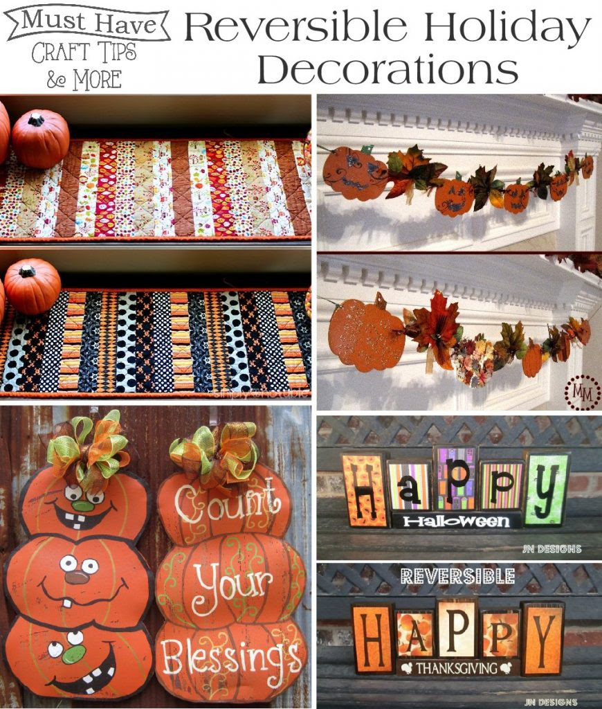 Reversible Holiday Decoration ideas!