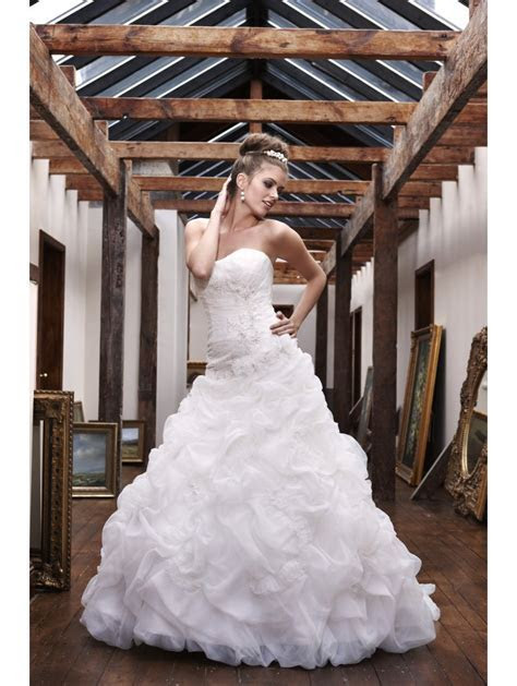 Olivia Grace Pavlova Gown, Gathered Tulle Ball Gown Style