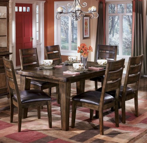 Rectangle Dining Room Table Signature Design By Ashley Furniture Hena082w