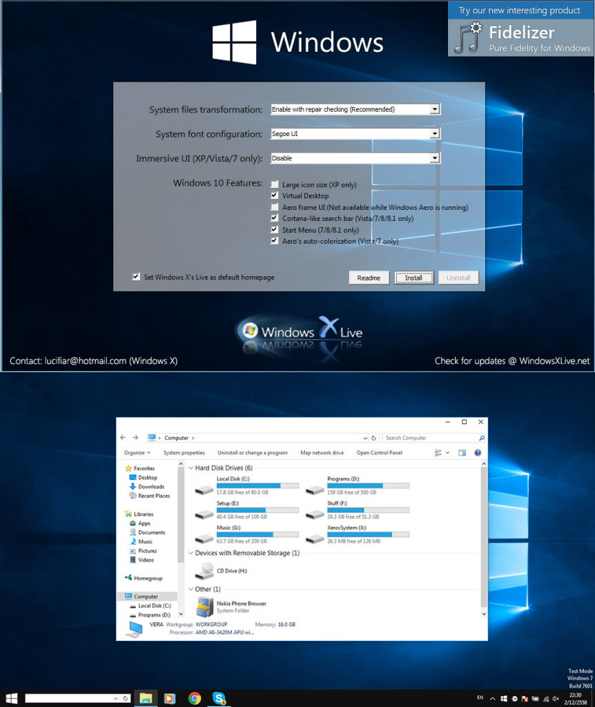 Windows 10 Transformation Pack 6.0