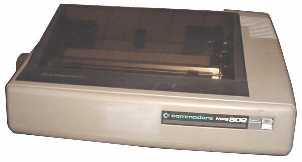 Commodore MPS 802