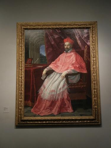 DSCN8011 _ Portrait of Cardinal Roberto Ubaldino, Papal Legate to Bologna, 1627, Guido Reni (1575-1642), LACMA