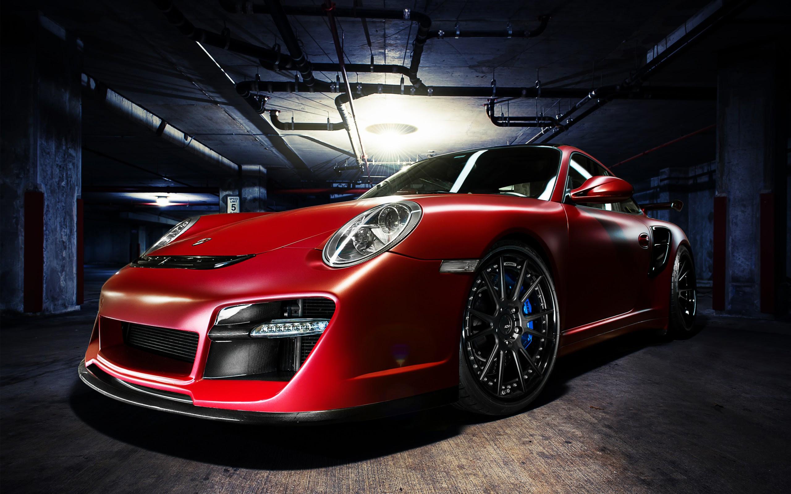 ADV1 Red Porsche Wallpaper | HD Car Wallpapers | ID #5581