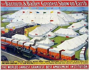 English: The Barnum & Bailey greatest show on ...
