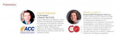 Hervé Felouzat y María Lorente de Centro de Coaching Cristina Naughton