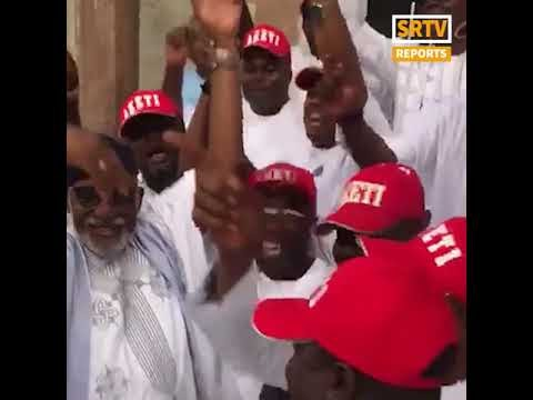 Four Lawmakers in Video Where Akeredolu Sneezed Refuse COVID-19 Test, Despite Being ill (VIDEO)