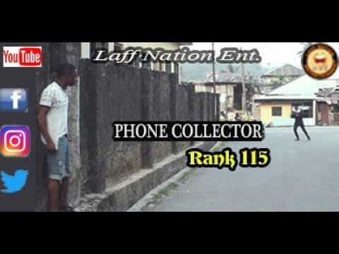 PHONE COLLECTOR (Laff Nation Ent.) (Rank 115) COMEDY VIDEO