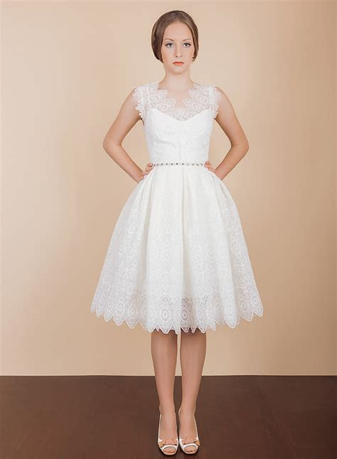 Short Wedding Dress   Minna from Vintage Atelier   Chic