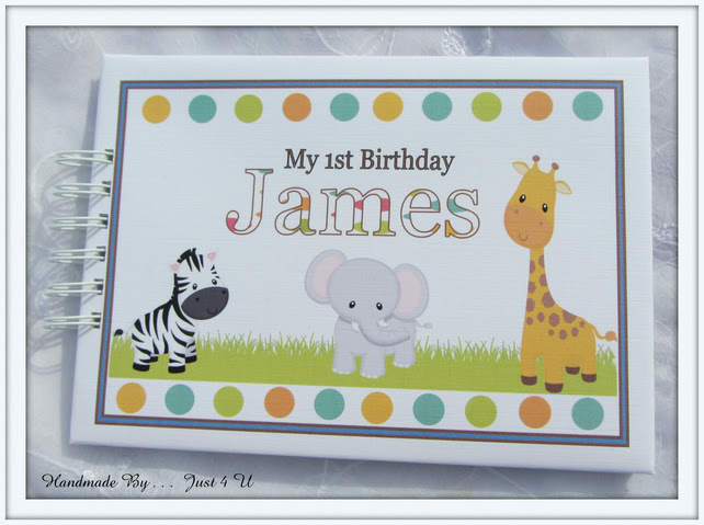 Personalised Baby Boy First 1st Birthday Guest Folksy