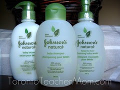 Johnson's Natural Baby Product Review