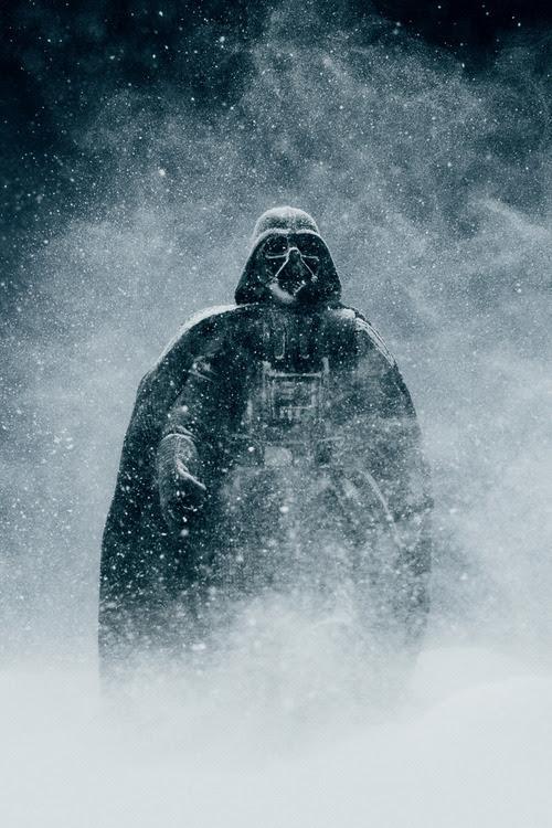Cool photo of Darth Vader