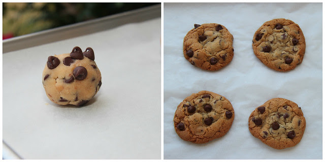 Chocolate Chip Cookies collage